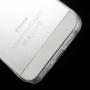 Ultratenký 0.5 mm kryt pro Apple iPhone 5 / 5S / SE - průhledný