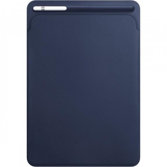 """Originální kožené pouzdro pro Apple iPad Air 3 (2019) / iPad Pro 10,5"""" - půlnočně modré MPU22ZM/A - možnost vrátit zboží ZDARMA do 30ti dní"""