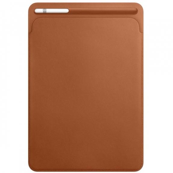 """Originální kožené pouzdro pro Apple iPad Air 3 (2019) / iPad Pro 10,5"""" - sedlově hnědé MPU12ZM/A - možnost vrátit zboží ZDARMA do 30ti dní"""