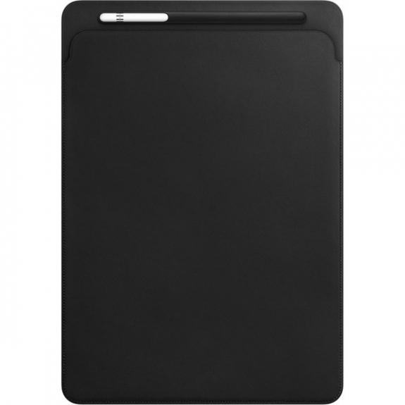 """Originální kožené pouzdro pro Apple iPad Pro 12.9"""" - černé MQ0U2ZM/A - možnost vrátit zboží ZDARMA do 30ti dní"""