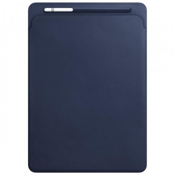 """Originální kožené pouzdro pro Apple iPad Pro 12.9"""" - půlnočně modré MQ0T2ZM/A - možnost vrátit zboží ZDARMA do 30ti dní"""
