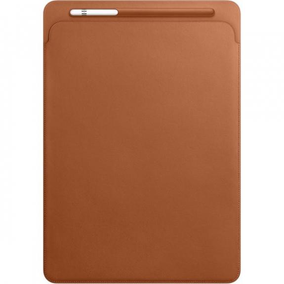 """Originální kožené pouzdro pro Apple iPad Pro 12.9"""" - sedlově hnědé MQ0Q2ZM/A - možnost vrátit zboží ZDARMA do 30ti dní"""