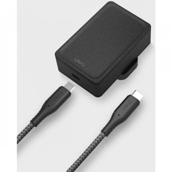 Uniq Versa Slim 18W síťový adaptér s portem USB-C (PD) - uhlově šedý 8886463668078 - možnost vrátit zboží ZDARMA do 30ti dní