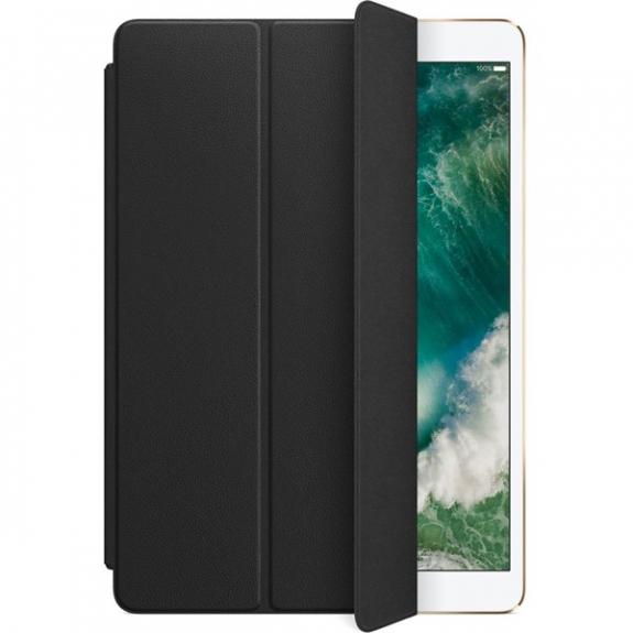 """Originální Smart Cover kožený přední kryt pro Apple iPad Air 3 (2019) / iPad Pro 10,5"""" - černý MPUD2ZM/A - možnost vrátit zboží ZDARMA do 30ti dní"""