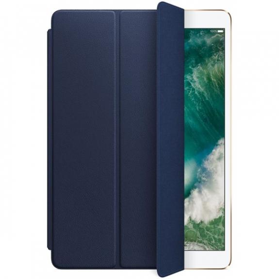 """Originální Smart Cover kožený přední kryt pro Apple iPad Air 3 (2019) / iPad Pro 10,5"""" - půlnočně modrý MPUA2ZM/A - možnost vrátit zboží ZDARMA do 30ti dní"""