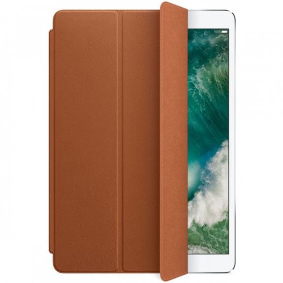 """Originální Smart Cover kožený přední kryt pro Apple iPad Air 3 (2019) / iPad Pro 10,5"""" - sedlově hnědý MPU92ZM/A - možnost vrátit zboží ZDARMA do 30ti dní"""