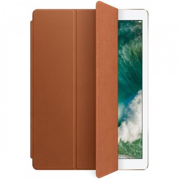 """Originální Smart Cover kožený přední kryt pro Apple iPad Pro 12,9"""" - sedlově hnědý MPV12ZM/A - možnost vrátit zboží ZDARMA do 30ti dní"""