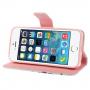 Peněženkové pouzdro pro Apple iPhone 5 / 5S / SE - Sovy