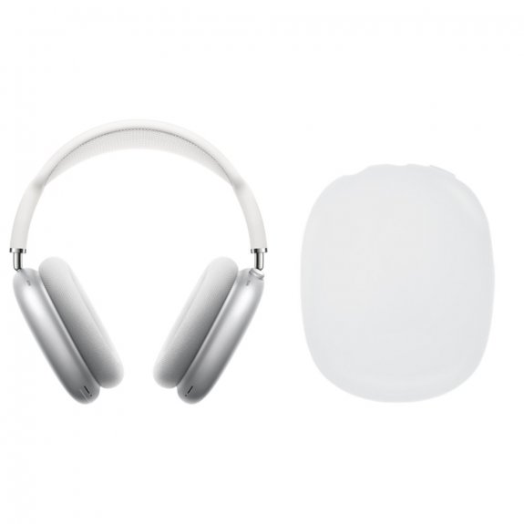 AppleKing silikonové kryty sluchátek pro AirPods Max - bílé - možnost vrátit zboží ZDARMA do 30ti dní