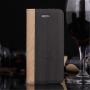Pouzdro se stojánkem a sloty na karty pro Apple iPhone 5 / 5S / SE - šedé