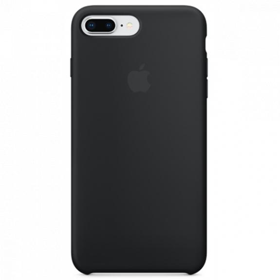 Originální silikonový kryt pro Apple iPhone 8 Plus / 7 Plus - černý MQGW2ZM/A - možnost vrátit zboží ZDARMA do 30ti dní