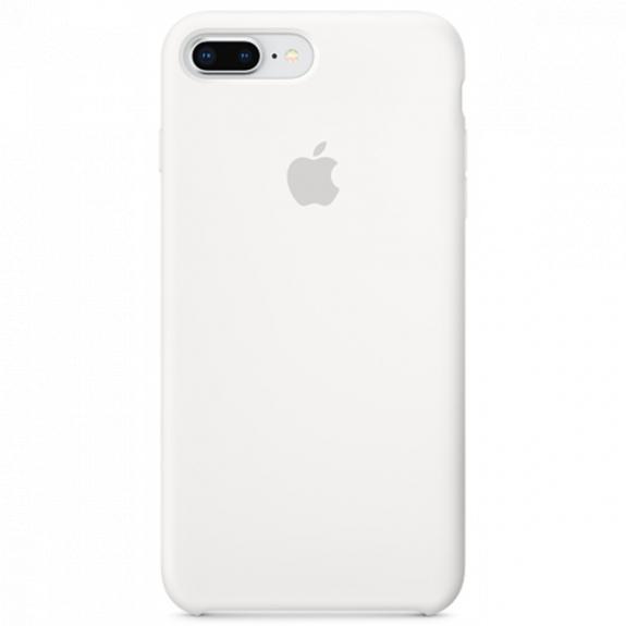 Originální silikonový kryt pro Apple iPhone 8 Plus / 7 Plus - bílý MQGX2ZM/A - možnost vrátit zboží ZDARMA do 30ti dní