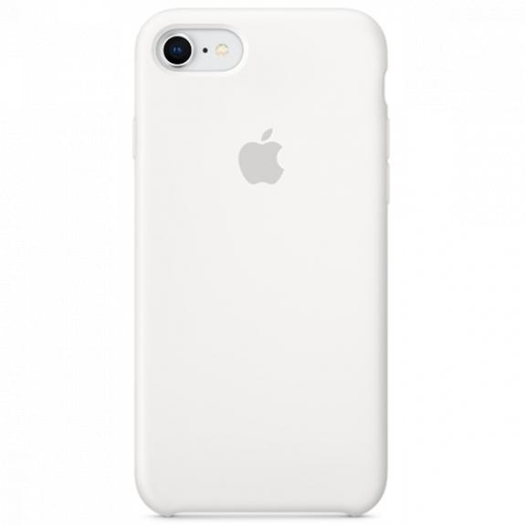 Originální silikonový kryt pro Apple iPhone SE (2020) / 8 / 7 - bílý MQGL2ZM/A - možnost vrátit zboží ZDARMA do 30ti dní