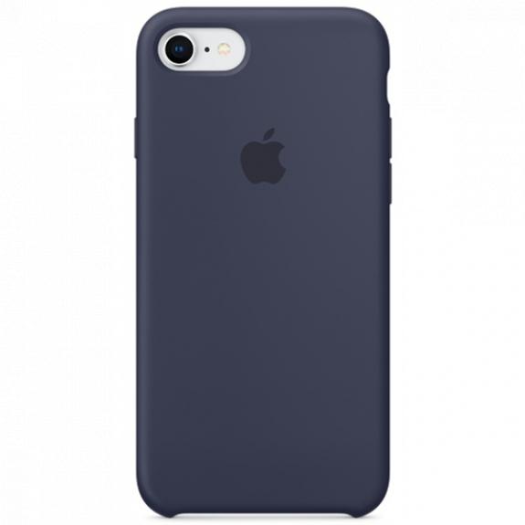 Originální silikonový kryt pro Apple iPhone 8 / 7 - půlnočně modrý MQGM2ZM/A - možnost vrátit zboží ZDARMA do 30ti dní
