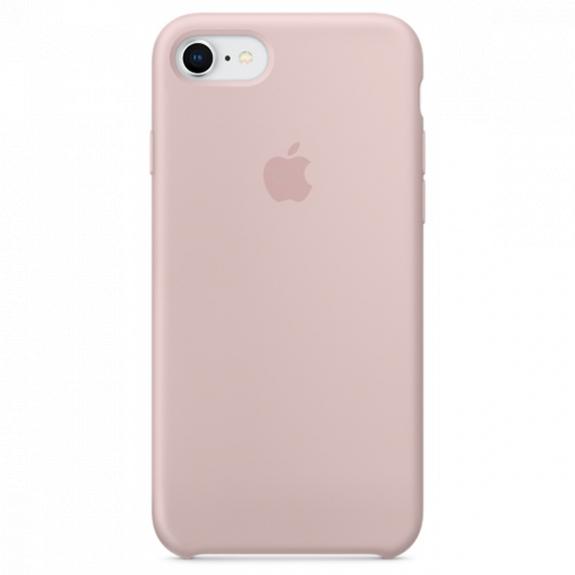 Originální silikonový kryt pro Apple iPhone 8 / 7 - pískově růžový MQGQ2ZM/A - možnost vrátit zboží ZDARMA do 30ti dní