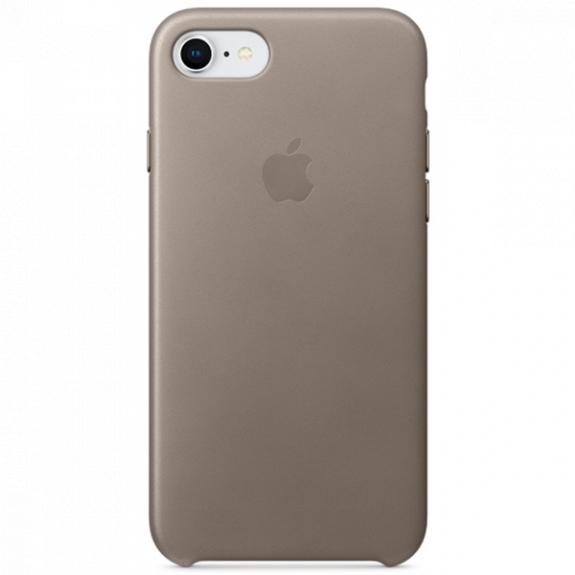 Originální kožené pouzdro pro Apple iPhone 8 / 7 - kouřové MQH62ZM/A - možnost vrátit zboží ZDARMA do 30ti dní