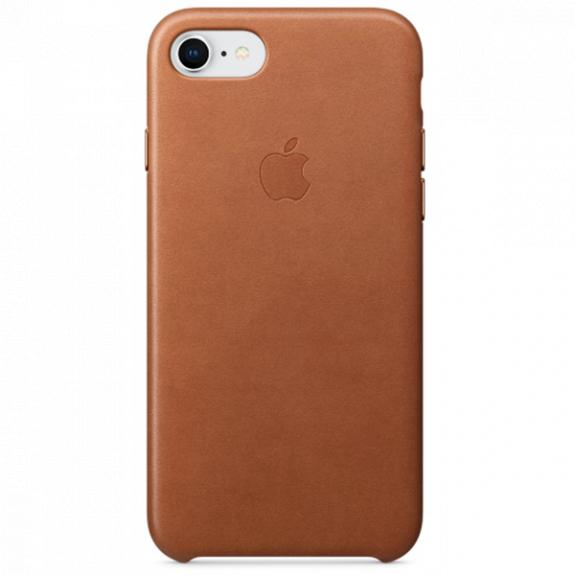 Originální kožené pouzdro pro Apple iPhone 8 / 7 - sedlově hnědé MQH72ZM/A - možnost vrátit zboží ZDARMA do 30ti dní