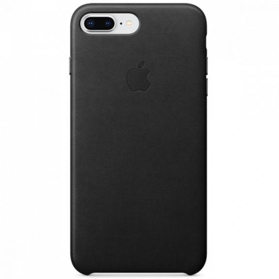 Originální kožené pouzdro pro Apple iPhone 8 Plus / 7 Plus - černé MQHM2ZM/A - možnost vrátit zboží ZDARMA do 30ti dní