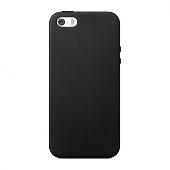 AppleKing elegantní kryt na Apple iPhone 5 / 5S / SE - černý - možnost vrátit zboží ZDARMA do 30ti dní