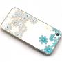 Kryt s diamantovým reliéfem na Apple iPhone 5 / 5S / SE - Sedmikrásky