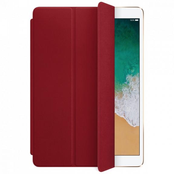 """Originální Smart Cover kožený přední kryt pro Apple iPad Pro 10.5"""" - červený MR5G2ZM/A - možnost vrátit zboží ZDARMA do 30ti dní"""