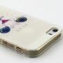 Pouzdro pro Apple iPhone 5 / 5S / SE - Bílá kočka