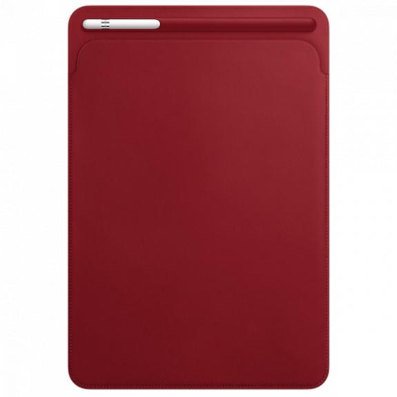 """Originální kožené pouzdro pro Apple iPad Air 3 (2019) / iPad Pro 10,5"""" - červené MR5L2ZM/A - možnost vrátit zboží ZDARMA do 30ti dní"""