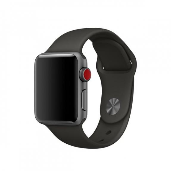 Originální sportovní řemínek pro Apple Watch 44mm / Watch 42mm - šedý MR272ZM/A - možnost vrátit zboží ZDARMA do 30ti dní