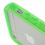 Obal bumper pro Apple iPhone 5 / 5S / SE - zelené