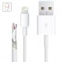 Synchronizační a nabíjecí kabel lightning pro iPhone / iPad / iPod - 1m - bílý - TOP kvalita