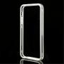 Pouzdro / kryt bumper pro Apple iPhone 5 / 5S / SE - bílý / průhledný