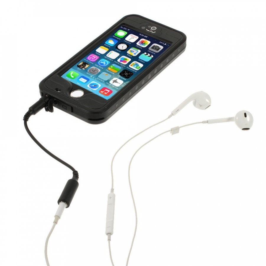 ... Voděodolné pouzdro   obal se snímačem otisků pro Apple iPhone 5   5S    SE ... 841ae4aaad5