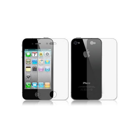AppleKing ochranná fólie - přední i zadní část pro iPhone 4 / 4S - průhledná - možnost vrátit zboží ZDARMA do 30ti dní