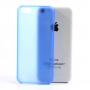 Ultratenký matný 0.3 mm kryt na Apple iPhone 5C - modrý