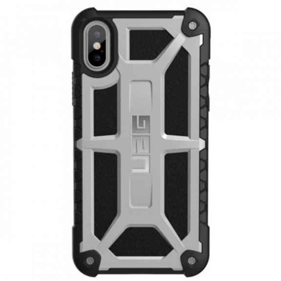 UAG Monarch extrémně odolné pouzdro pro Apple iPhone XS / iPhone X - platinové IPHX-M-PL - možnost vrátit zboží ZDARMA do 30ti dní