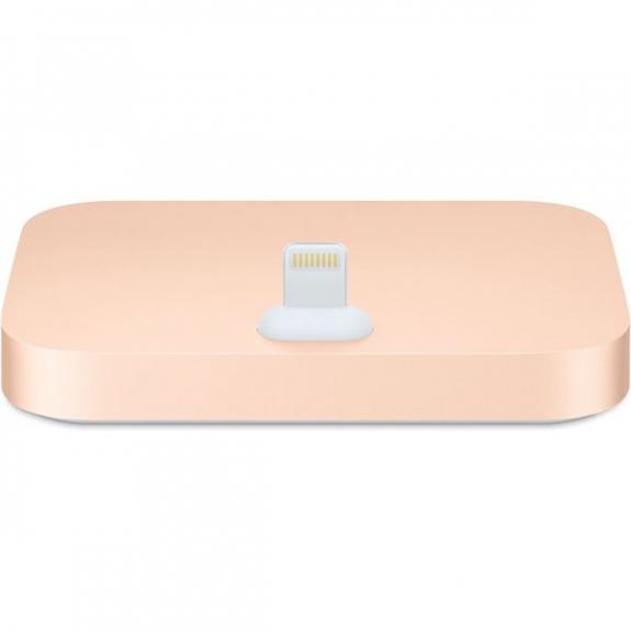 Apple originální dokovací stanice s lightning konektorem pro iPhone - zlatá MQHX2ZM/A - možnost vrátit zboží ZDARMA do 30ti dní