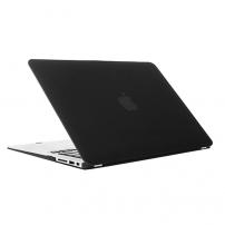 """Tvrzený ochranný plastový obal / kryt pro Macbook Air 13"""" - černý"""