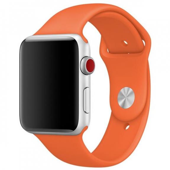 Originální sportovní řemínek pro Apple Watch 40mm / Watch 38mm - paprikově oranžový MQUT2ZM/A - možnost vrátit zboží ZDARMA do 30ti dní