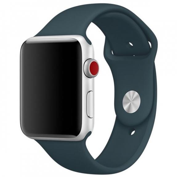 Originální sportovní řemínek pro Apple Watch 40mm / Watch 38mm - tmavě petrolejový MQUU2ZM/A - možnost vrátit zboží ZDARMA do 30ti dní