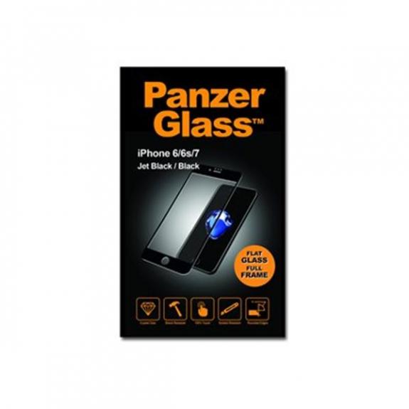 PanzerGlass tvrzené 3D sklo s ochranou soukromí pro Apple iPhone 6 / 6S / 7 / 8 - 0.4mm - černé 4470043 - možnost vrátit zboží ZDARMA do 30ti dní