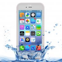 Voděodolný obal / kryt pro Apple iPhone 8 / 7 - průhledný s diamantovým vzorkem