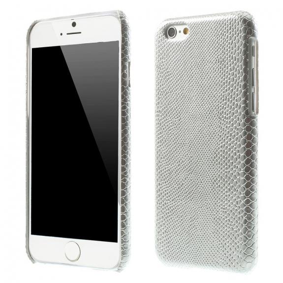 AppleKing kryt s designem ještěří kůže na Apple iPhone 6 / 6S - stříbrný - možnost vrátit zboží ZDARMA do 30ti dní