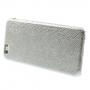 Kryt s designem ještěří kůže na Apple iPhone 6 / 6S - stříbrný