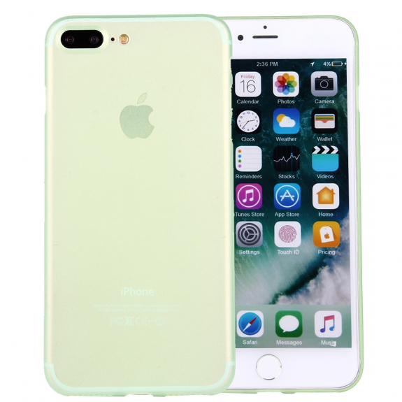 AppleKing ochranný zadní kryt matný pro Apple iPhone 8 Plus   7 Plus -  zelený - 9638d0e3d31