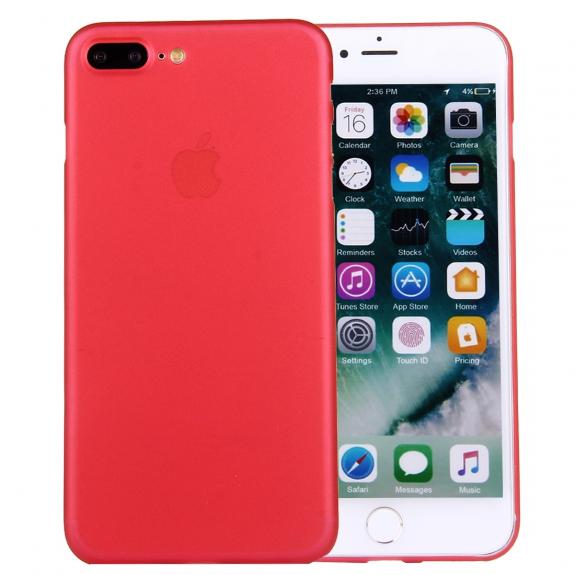 AppleKing ochranný zadní kryt matný pro Apple iPhone 8 Plus   7 Plus -  červený - 937010d7770