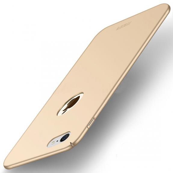 MOFI elegantní a ultratenký kryt pro Apple iPhone 8 - zlatý - možnost vrátit zboží ZDARMA do 30ti dní