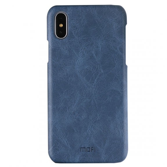 MOFI ochranný kryt pro iPhone XS / iPhone X - tmavě modrý - možnost vrátit zboží ZDARMA do 30ti dní