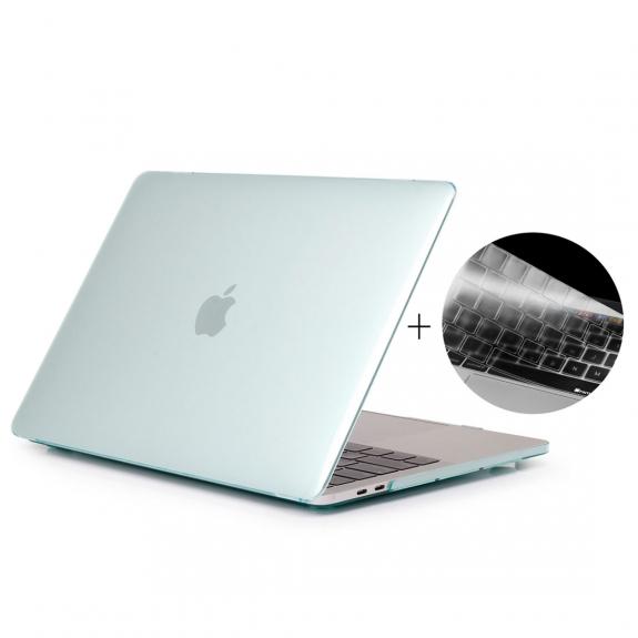 """ENKAY 2v1 ochranný obal a ultra tenký kryt EU klávesnice pro Macbook Pro 13"""" s Touch Barem (model A1706) - zelený - možnost vrátit zboží ZDARMA do 30ti dní"""