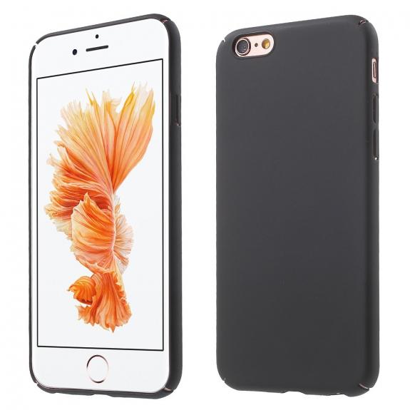 AppleKing ochranný kryt na Apple iPhone 6 / 6S - černý - možnost vrátit zboží ZDARMA do 30ti dní