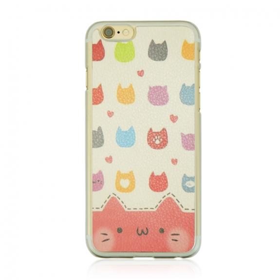 Ochranný plastový kryt na Apple iPhone 6 / 6S - kočky